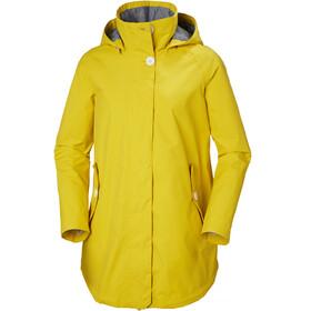 Helly Hansen W's Sendai Rain Coat Sulphur